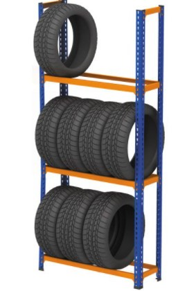 wheel storage rack