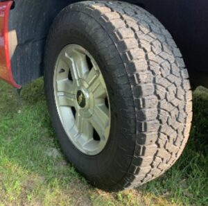 Toyo open country at3 tire