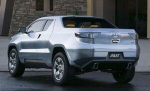 Toyota Hybrid truck A-BAT