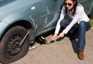 What to do if you have a flat tire