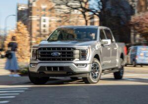 Ford hybrid truck F-150