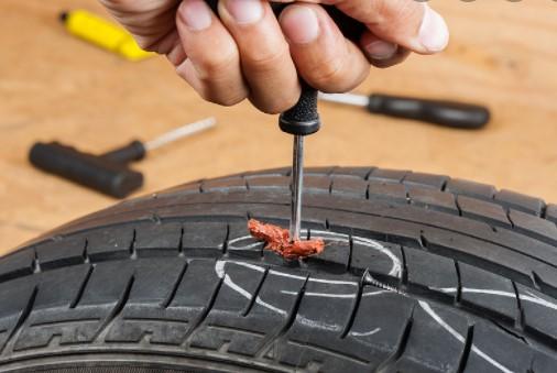 Can you plug a run flat tire